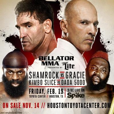 Bellator Gracie vs Shamrock