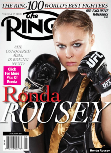 Ring Cover Rousey